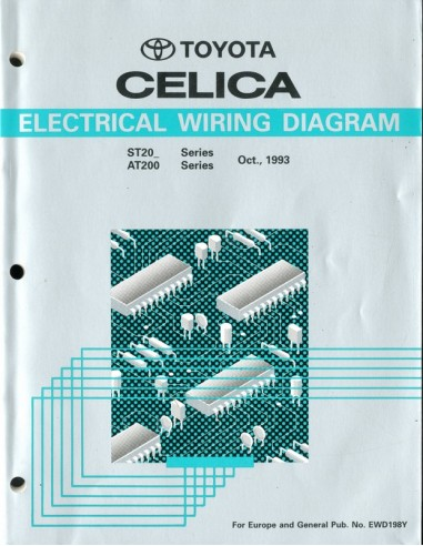 1992 Toyota Celica Electrical Wiring Diagrams
