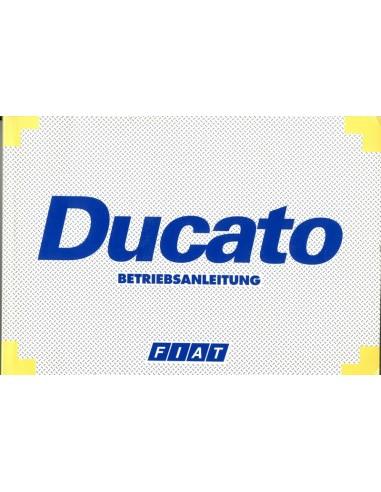 1998 fiat ducato owners manual handbook german rh autolit eu Fiat Ducato 2300 MJT Fiat Ducato Interior