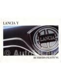 1999 LANCIA Y INSTRUCTIEBOEKJE DUITS