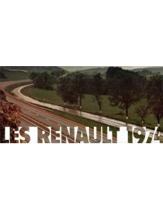 1974 RENAULT PROGRAMMA BROCHURE FRANS