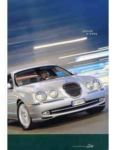 2002 JAGUAR S TYPE BROCHURE ENGELS