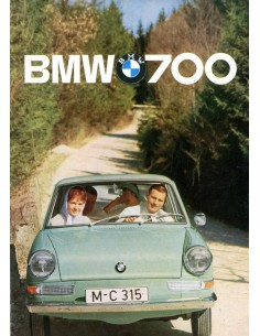 1962 BMW 700 BROCHURE NEDERLANDS