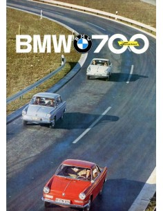 1962 BMW 700 LUXUS BROCHURE NEDERLANDS