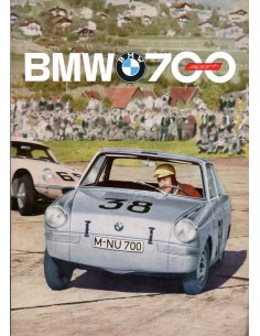 1962 BMW 700 SPORT BROCHURE NEDERLANDS