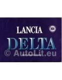 1989 LANCIA DELTA INSTRUCTIEBOEKJE DUITS