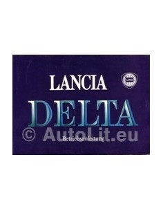 1989 LANCIA DELTA OWNERS MANUAL GERMAN