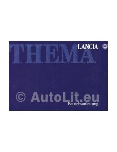 1989 LANCIA THEMA OWNERS MANUAL GERMAN