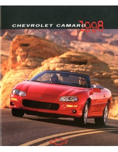 1998 CHEVROLET CAMARO BROCHURE ENGELS