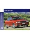 1993 LANCIA DEDRA INSTRUCTIEBOEKJE ITALIAANS