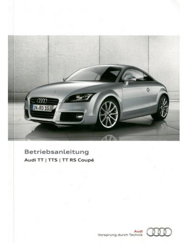 2013 audi tt tts rs coupe owner s manual german rh autolit eu Audi TT Hatchback 2008 Audi TT Coupe