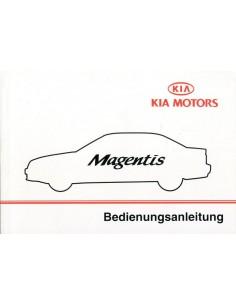 2002 KIA MAGENTIS INSTRUCTIEBOEKJE DUITS