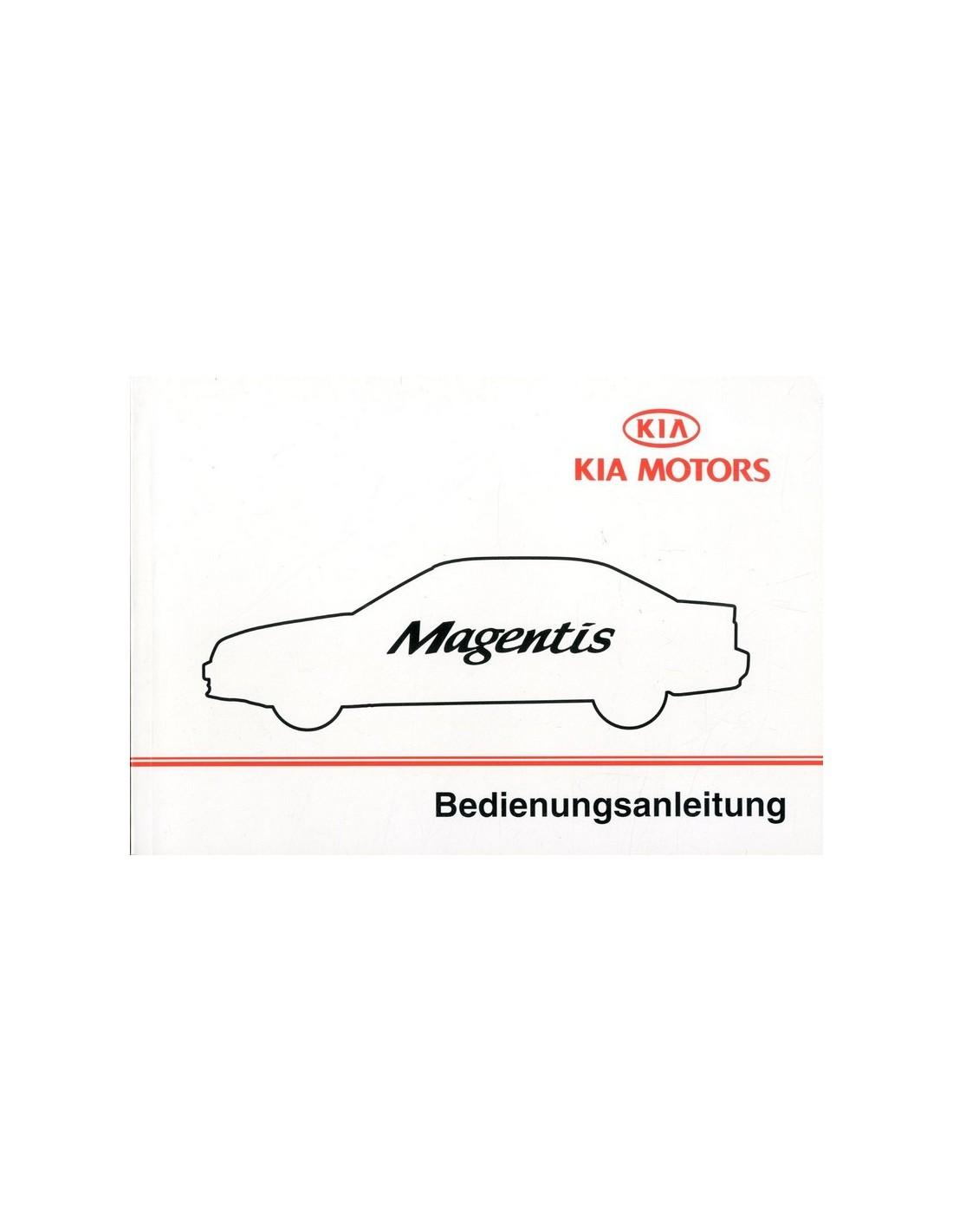 2002 kia magentis owner s manual german rh autolit eu kia magentis service manual free download kia magentis service manual free download