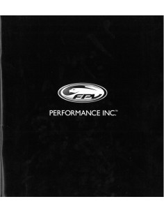2007 FORD FPV FP TURBO FORCE BOSS V8 BROCHURE ENGELS