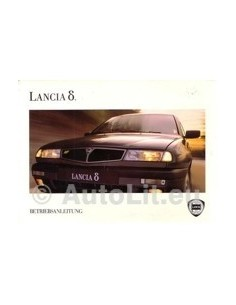 1993 LANCIA DELTA OWNERS MANUAL HANDBOOK GERMAN