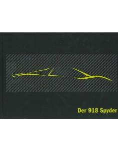 2012 PORSCHE 918 SPYDER HARDCOVER BROCHURE DUITS