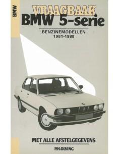 1981 - 1988 BMW 5 SERIE BENZINE VRAAGBAAK NEDERLANDS