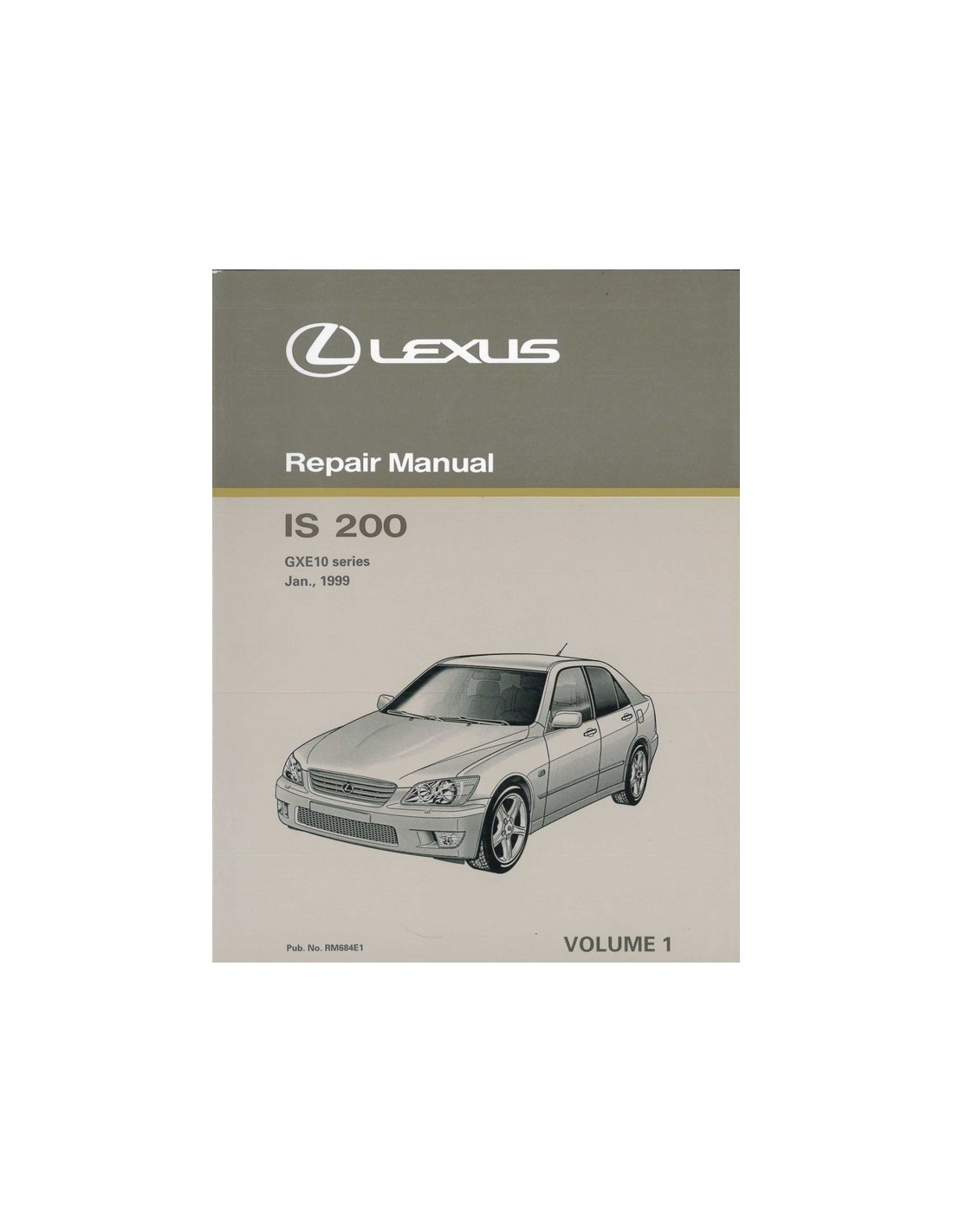 1999 lexus is 200 chassis body repair manual english rh autolit eu Lexus IS300 2000 Lexus Is200