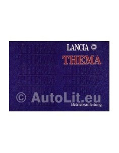 1991 LANCIA DELTA INSTRUCTIEBOEKJE DUITS