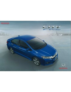 2014 HONDA CITY BROCHURE THAIS