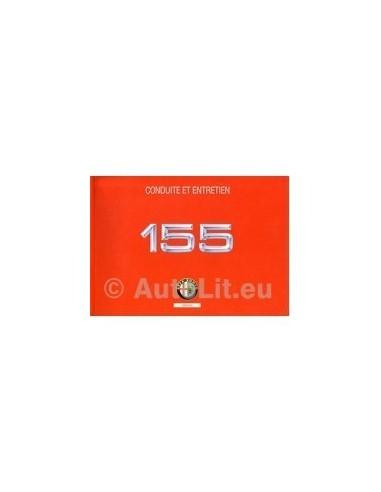 1993 ALFA ROMEO 155 INSTRUCTIEBOEKJE FRANS