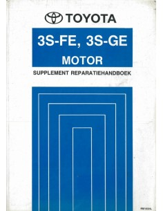 1990 TOYOTA MR2 3S-FE 3S-GE MOTOR WERKPLAATSHANDBOEK NEDERLANDS