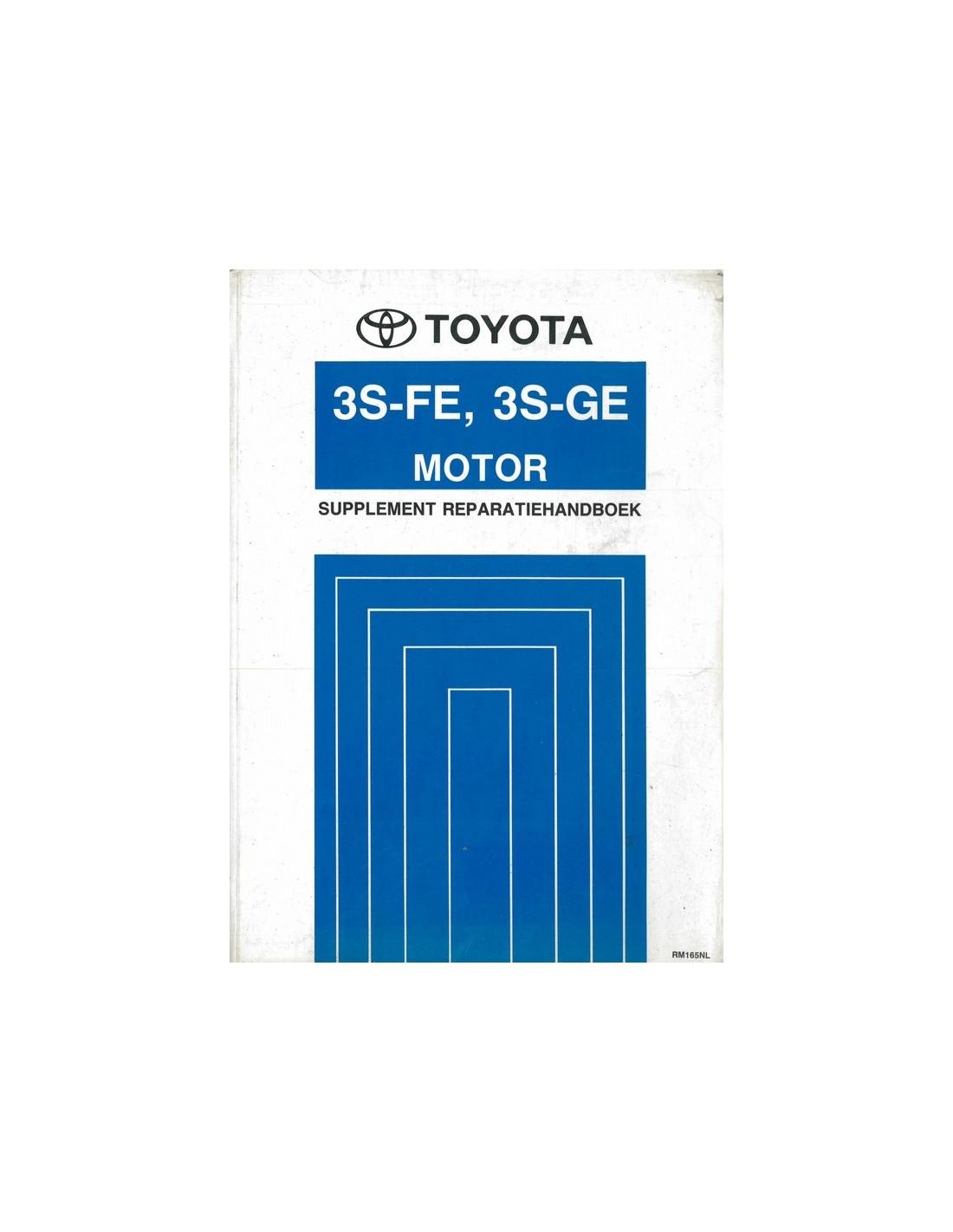 1990 toyota mr2 3s fe 3s ge engine repair manual dutch rh autolit eu toyota 3s-fe engine service and repair manual.pdf Toyota 3.4 Engine