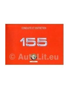 1994 ALFA ROMEO 155 OWNERS MANUAL HANDBOOK FRENCH