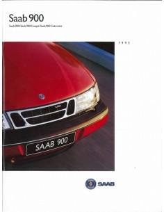 1995 SAAB 900 BROCHURE NEDERLANDS