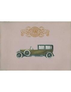 1925 FIAT 519 BROCHURE ITALIAANS