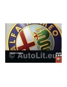 2005 ALFA ROMEO 159 INSTRUCTIEBOEKJE ENGELS