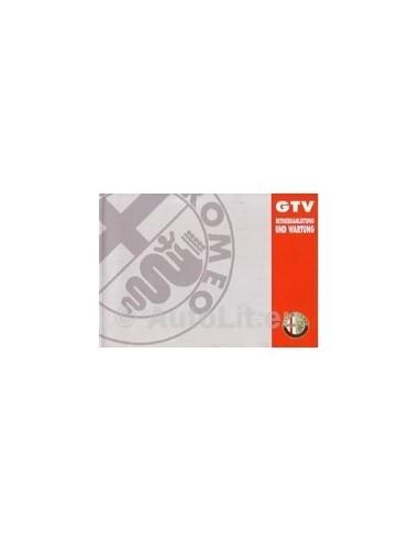 1995 ALFA ROMEO GTV INSTRUCTIEBOEKJE DUITS
