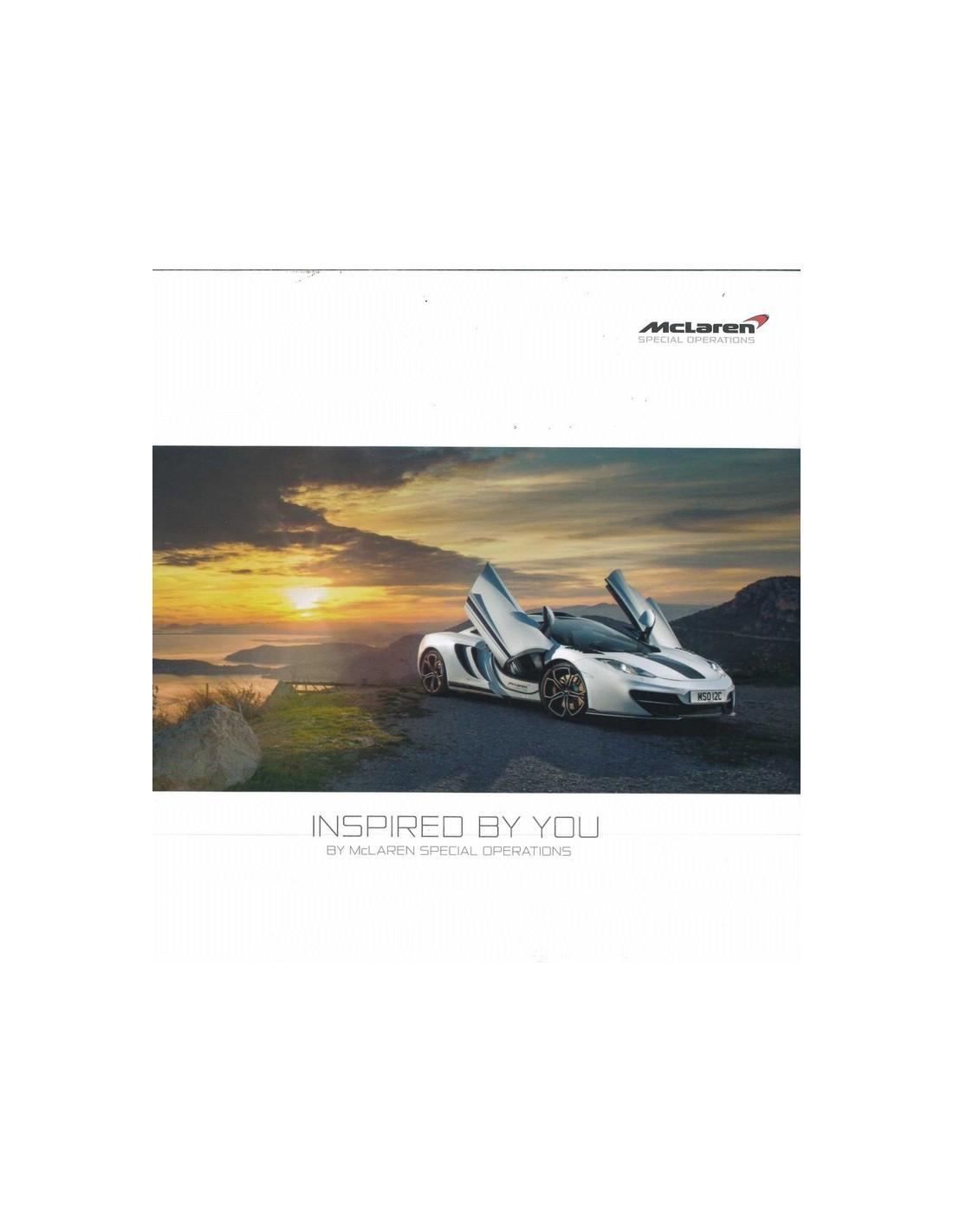 Bmw Z3 Brochure: 2014 MCLAREN 650S BROCHURE ENGLISH