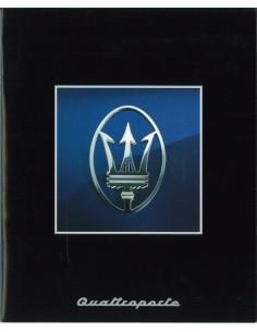 1995 MASERATI QUATTROPORTE BROCHURE DUITS