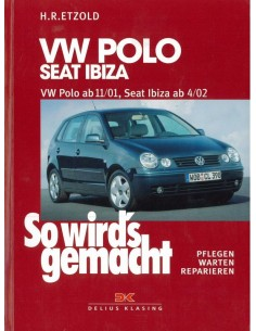 2001 -2005 VOLKSWAGEN POLO & SEAT IBIZA VRAAGBAAK DUITS