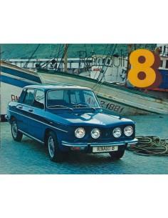 1975 RENAULT 8 BROCHURE SPAANS