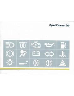 1996 OPEL CORSA B INSTRUCTIEBOEKJE NEDERLANDS