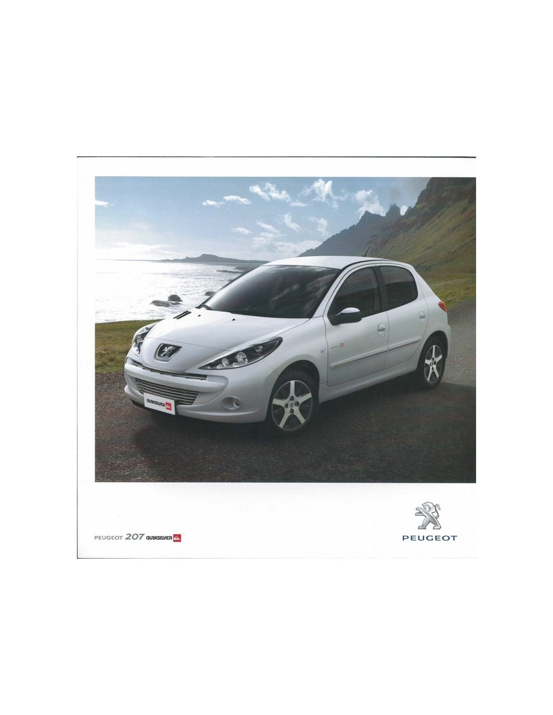 2011 peugeot escapade sw brochure portugesisch2011 peugeot 207 quicksilver brochure portugesisch. Black Bedroom Furniture Sets. Home Design Ideas
