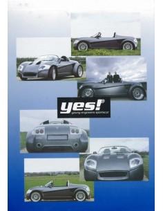 2001 YES! ROADSTER LEAFLET DUITS