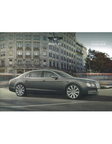 2013 BENTLEY CONTINENTAL FLYING SPUR BROCHURE FRANS