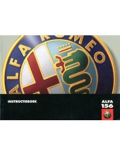 2002 ALFA ROMEO 156 OWNERS MANUAL DUTCH