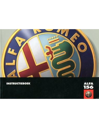2002 ALFA ROMEO 156 INSTRUCTIEBOEKJE NEDERLANDS