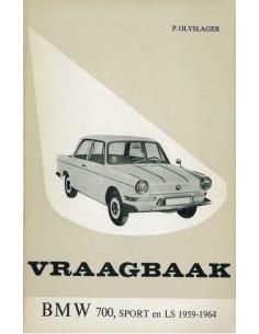 1959 - 1964 BMW 700 SPORT LS VRAAGBAAK NEDERLANDS