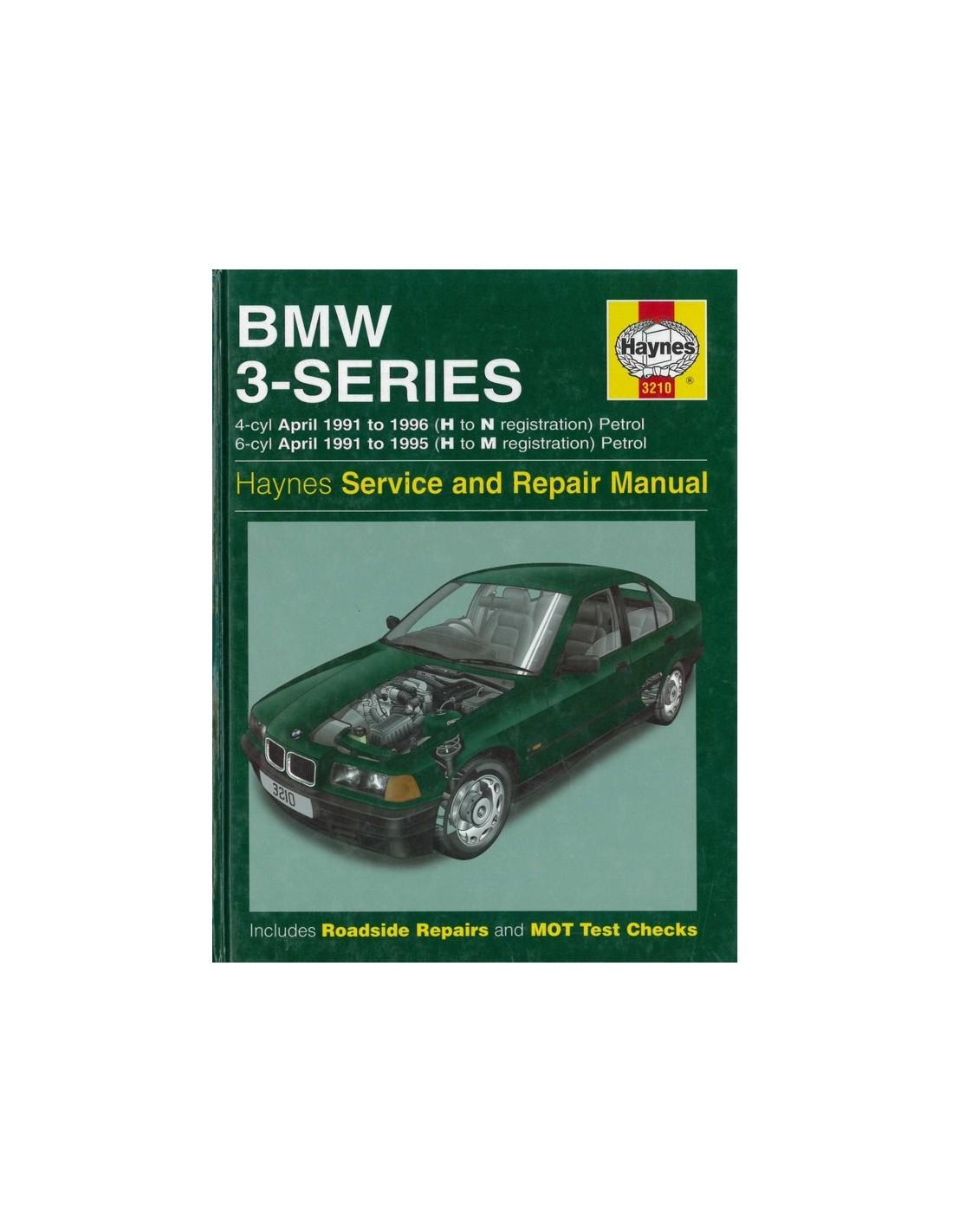 1991 1996 bmw 3 series petrol haynes workshop manual english rh autolit eu 1991 BMW 325Ic 1982 BMW 325I