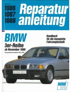 1991 - 1996 BMW 3 SERIE BENZINE BUCHELI VERLAG VRAAGBAAK DUITS