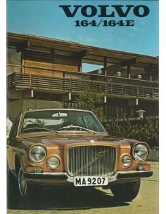 1971 VOLVO 164 E BROCHURE NEDERLANDS