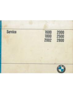 1971 BMW 2000 GARANTIE & ONDERHOUDS HANDLEIDING NEDERLANDS
