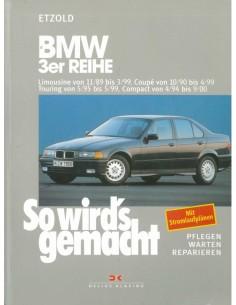 1989 - 1999 BMW 3 SERIE BENZINE DIESEL VRAAGBAAK DUITS
