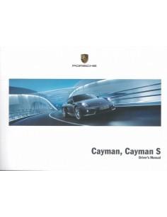 2013 PORSCHE CAYMAN & S INSTRUCTIEBOEKJE ENGELS