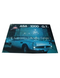 1965 ASA 1000 G.T. COUPE & SPIDER BROCHURE IT FR GB