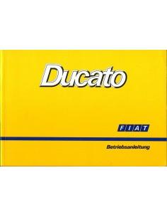 1990 FIAT DUCATO INSTRUCTIEBOEKJE DUITS